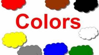 Lectia de engleza -Invata copilul culorile in engleza