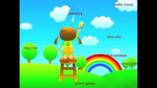 Lectia de engleza pentru copii -casa si gradina