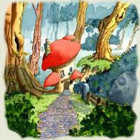 Povestea -Căsuţa din pădure