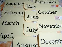 Poezia -Lunile anului