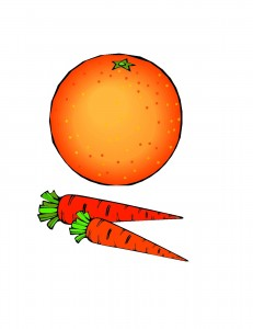 portocala si morcov