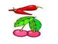 Planse cu fructe si legume colorate