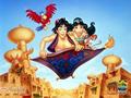 Povestea -Aladin si lampa fermecata