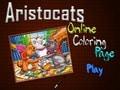Coloreaza online Pisicile Aristocrate