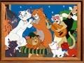 Puzzle cu Pisicile Aristocrate 2