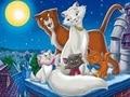 Puzzle cu Pisicile Aristocrate